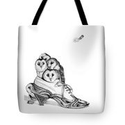 Owls In A Shoe Tote Bag