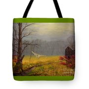Owl's Retreat Tobacco Trail Tote Bag