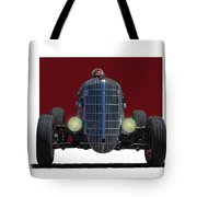 Owner Designed And Built Race Car Tote Bag