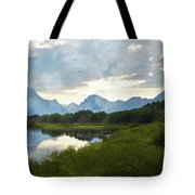 Oxbow Bend 13d Tote Bag