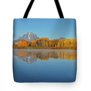 Oxbow Bend First Light  Tote Bag
