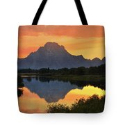 Oxbow Sunset 13 Tote Bag