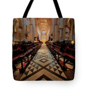 Oxford Cathedral Nave Tote Bag