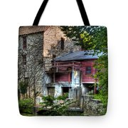 Oxford Mill-summertime Tote Bag