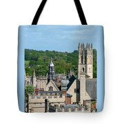 Oxford Tower View Tote Bag