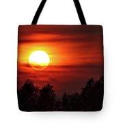 Oxfordshire Sunset Tote Bag by Jeremy Hayden