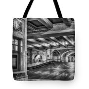 Oyster Bar Restaurant Gct Nyc Bw Tote Bag