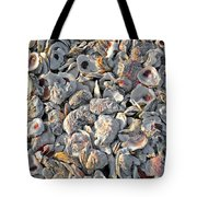 Oysters Shells Tote Bag