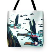 Oz Flying Monkeys  Tote Bag