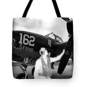 P-38 Ghost Flight Tote Bag