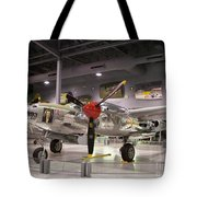 P-38 Lighting Marge Tote Bag
