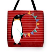 P Is For Penguin Tote Bag