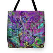 P Patch Poppies 2 Tote Bag