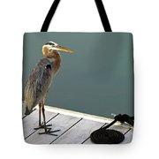 P1104117 Great Blue Heron Tote Bag