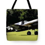 P40 Take Off Tote Bag