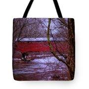 Pa Covered Bridge Tote Bag