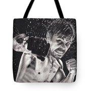 Pac-man Tote Bag by Joshua Navarra