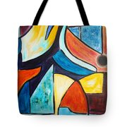 Pace And Place Tote Bag