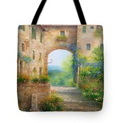 Pace In Toscana - Italy Tote Bag