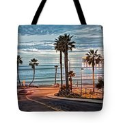 Pacific And 1st Street Tote Bag