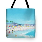 Pacific Beach In San Diego Tote Bag