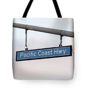 Pacific Coast Highway Tote Bag by Art Block Collections