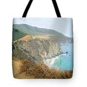 Pacific Coast Highway Dreams Tote Bag