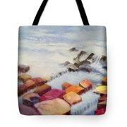 Pacific Coastline Tote Bag