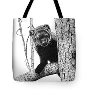Pacific Fisher Tote Bag