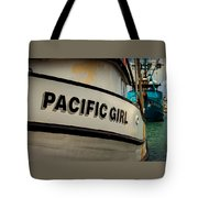 Pacific Girl Tote Bag