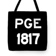 Pacific Great Eastern - 1817 Tote Bag
