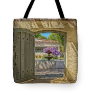 Pacific House Garden Watercolors Tote Bag