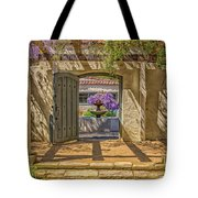 Pacific House Garden Watercorlors Tote Bag