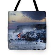 Pacific Lava Flow Tote Bag