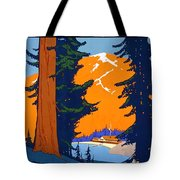 Pacific Northwest, American And Canadian Rockies, National Park Tote Bag