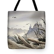 Pacific Northwest Driftwood Shore Tote Bag by James Williamson