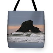 Pacific Northwest Waves Tote Bag