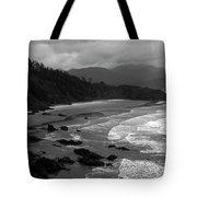 Pacific Ocean Moody Scenic Tote Bag