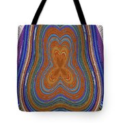 Pacific Ocean Oregon View Abstract # 8085wwpct Tote Bag