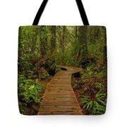 Pacific Rim National Park Boardwalk Tote Bag
