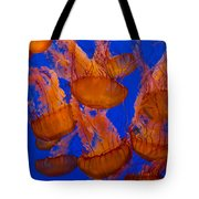 Pacific Sea Nettle Cluster 1 Tote Bag