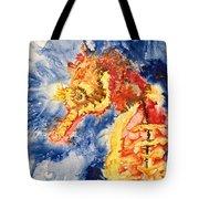 Pacific Seahorse Tote Bag