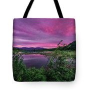 Pack River Sunset Tote Bag