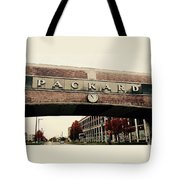 Packard Plant Tote Bag