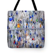 Packed Plastic Tote Bag