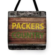 Packers Country Medieval  Tote Bag