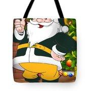 Packers Santa Claus Tote Bag