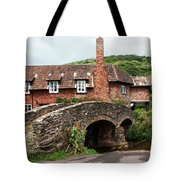 Packhorse Bridge At Allerford Tote Bag