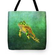 Pacman Frog Tote Bag