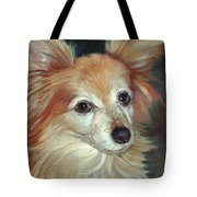 Paco The Papillion Tote Bag